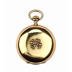 Secesní kapesní hodinky -...