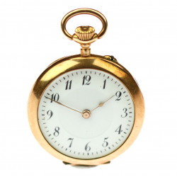 "Gold pocket watch ""nuns"""