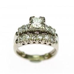 Dvouprsten s diamanty