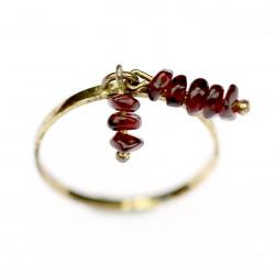 Stříbrný prsten s českým...