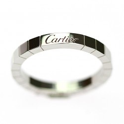 Platinový prsten - Cartier...
