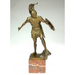 Bronzová socha Achilla