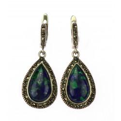 Náušnice s lapisem lazuli