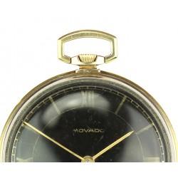 Zlaté kapesní hodinky Movado
