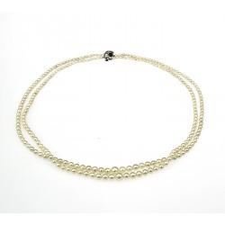 Dvojitá perlová šňůra