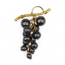 Brooch - grapes