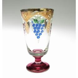 Art-Nouveau wine glass