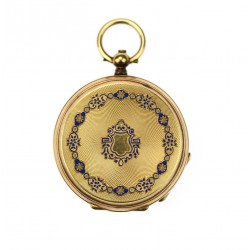 Double-cover pocket watch