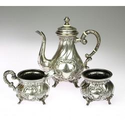 Austro-Hungarian silver set