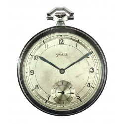 Art-deco kapesní hodinky Silvana