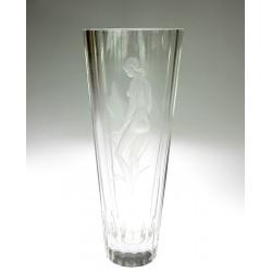 Skleněná váza - L.J.Gr.