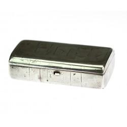 Stříbrná krabička - Rusko 1870