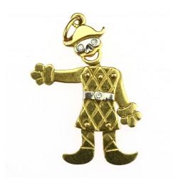 Gold pendant - pierot