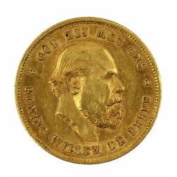 Zlatá mince - 10 Gulden 1875