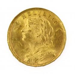 Zlatá mince - 20 Frank 1935 LB