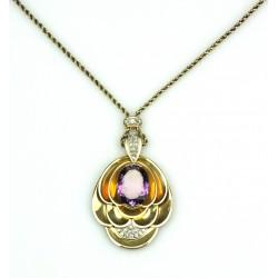 Zlatý náhrdelník s...