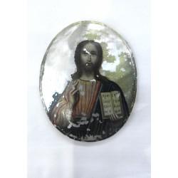 Medailka s žehnajícím Kristem
