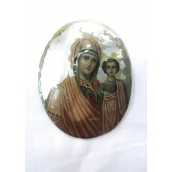Medal with Mother and Jesus