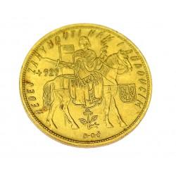 Zlatá mince - pětidukát 1931