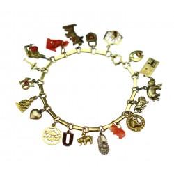 Gold bracelet - beggar