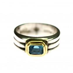 Stříbrný prsten David Yurman