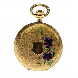 Dámské zlaté kapesní hodinky