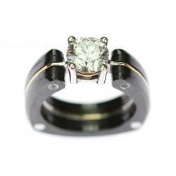 Titanový prsten s...