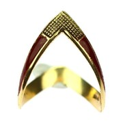 🇨🇿 Netradiční prsten vyrobený z 18karátového žlutého zlata zdobený smalty. . . .  🇬🇧 Unconventional ring made of 18 carat yellow gold decorated with enamel. . . . 8 000 Kč / 308 EUR  . . . . . . . . #starozitnesperkyspribehem #rings #loveyou #prague #jewelry #cinolterantique #diana #antiques #emerald #enamel #starozitnosti #sperky #gold #instagood #goldsmith #jewelryart #vanityfairvintage #igerscz #antiquescinolter #dobrerano #art #antiquity #praha