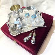 Stříbrné dekorativní kousky na Váš stůl ... . . . . Silver decorative pieces for your table . . . #praha #decorative #prague #silver #cinolterantique #saltandpepper #antiques #silversmith #stribro #starozitnosti #monday #instagood #november#mood #vanityfairvintage #igerscz #antiqueslove #cinolter #vanoce2020
