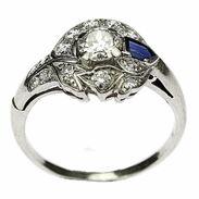 🇨🇿 Art-deco prsten vyrobený z bílého zlata a zdobený safírem a starobrusnými diamanty. Ruční práce ze 20.-30. let 20. století. . 🇬🇧 Art-deco ring made of white gold and decorated with sapphire and antique diamonds. Handicrafts from the 20s - 30s of the 20th century.. . . . 60 000 Kč / 2 264 € . . . . . . . . #starozitnesperkyspribehem #loveyou #prague #jewelry #cinolterantique #modra #antiques #safir #sapphirre #starozitnosti #sperky #artdeco #instagood #goldsmith #prvnirepublika #vanityfairvintage #igerscz #antiquescinolter #cinolter #prstensesafirem
