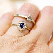🇨🇿 Jemné prstýnky z konce 19. století - Rakousko-Uhersko. Starobrusné diamanty a safír. . . .  🇬🇧 Fine rings from the end of the 19th century - Austria-Hungary. Old cut diamonds and sapphire. . . . . . . . . #starozitnesperkyspribehem #loveyou #prague #jewelry #cinolterantique #modra #antiques #safir #sapphirre #starozitnosti #sperky #instagood #goldsmith #slowfashion #vanityfairvintage #igerscz #antiquescinolter #cinolter #prstensesafirem