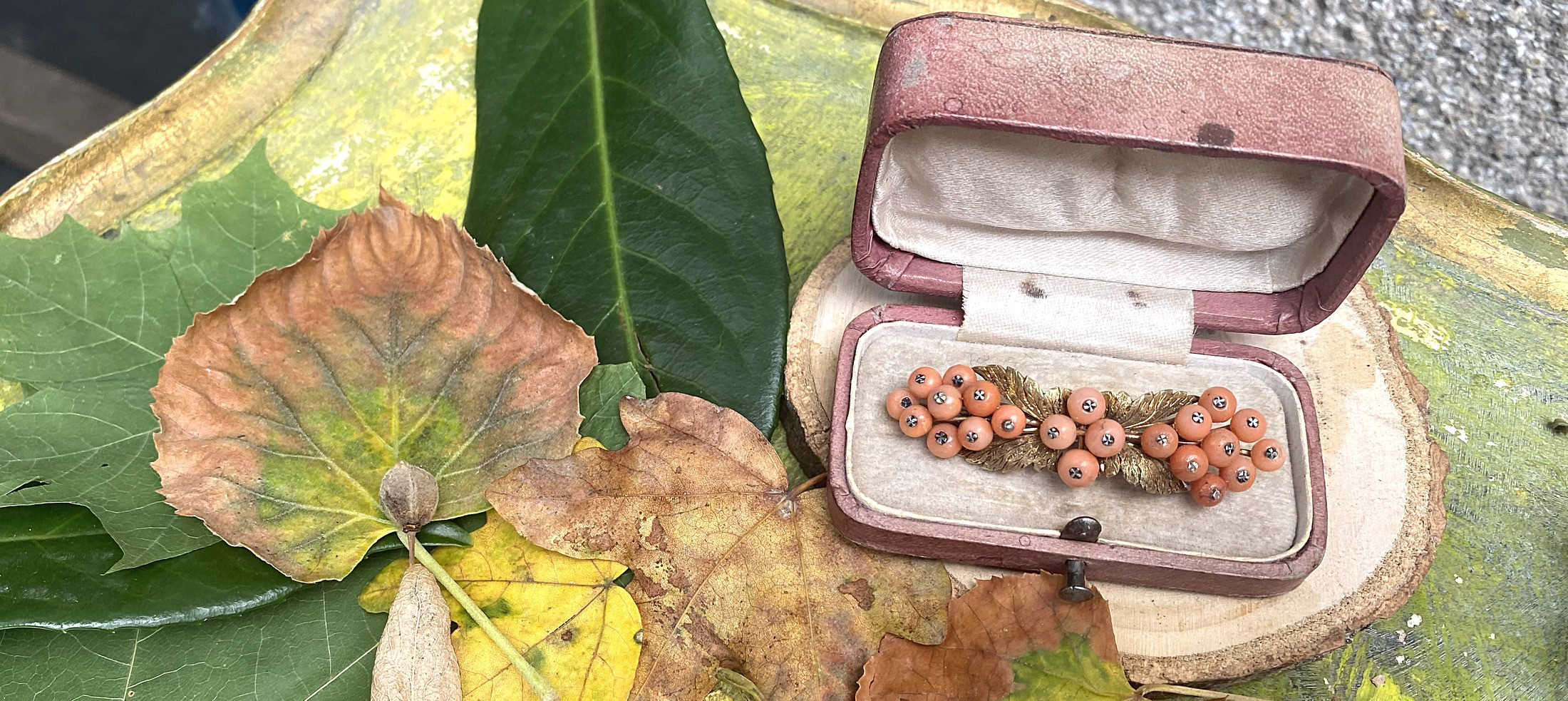 Šperky v barvách podzimu